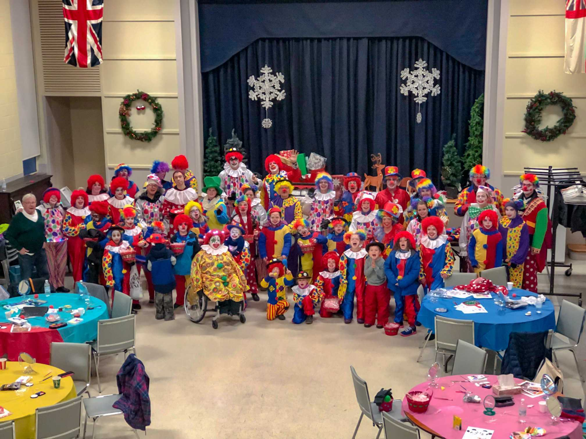 Another great year of Clowning Around with The Rotary Club of Brantford in the JCI Parade!