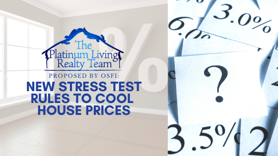 More changes to the mortgage stress test!